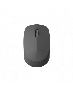 RAPOO M100 Silent - Light grey - Multimode (Bluetooth and Wireless) Mouse