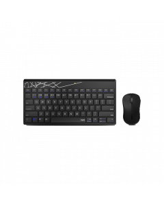 RAPOO 8000M US-Black Multimode (Wireless / Bluetooth) Keyboard / Mouse Combo