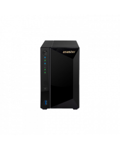 Asustor AS4002T -  2 Bay NAS, Marvell Armada A7020 Duad-Core, 2 GB DDR4, Gbe x2, 10G Base-T x1(RJ-45), WoL, System Sleep Mode