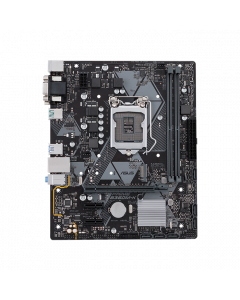 PRIME B360M-K, Intel LGA-1151 mATX motherboard with LED lighting, DDR4 2666MHz, M.2 support, SATA 6Gbps and USB 3.1 Gen 2