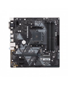 ASUS PRIME B450M-A, AMD AM4 mATX motherboard with Aura Sync RGB header, DDR4 4400MHz, M.2, HDMI 2.0b, SATA 6Gbps and USB 3.1 Gen 2