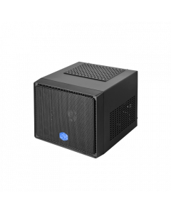 Cooler Master Elite 110 with 400W PSU Midnight Black Steel/Plastic Mini-ITX Tower Computer Case