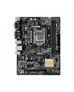 ASUS H110M-CS, Supreme micro-ATX H110 motherboard with 5X Protection II for dependable stability, DDR4 support and EZ Flash 3 fast BIOS updates