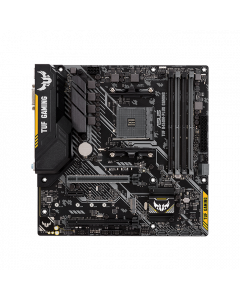TUF-B450M-PLUS, AMD B450 mATX gaming motherboard with Aura Sync RGB LED lighting, DDR4 4400MHz support, 32Gbps M.2, HDMI 2.0b, Type C and native USB 3.1 Gen 2.