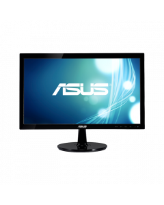 ASUS VS207DF Monitor - 20 inch, WXGA (1366x768 ), Superior Image Quality Meets Classic Design