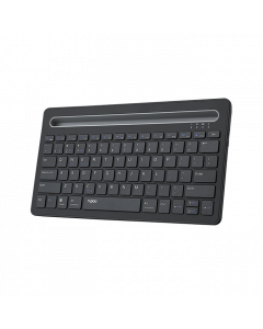 RAPOO XK100 US-Black Bluetooth Keyboard with Tablet Stand
